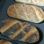 Sesam Mohn Brötchen Kochevent